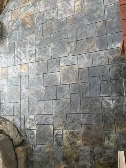 Hand Stained Ashlar