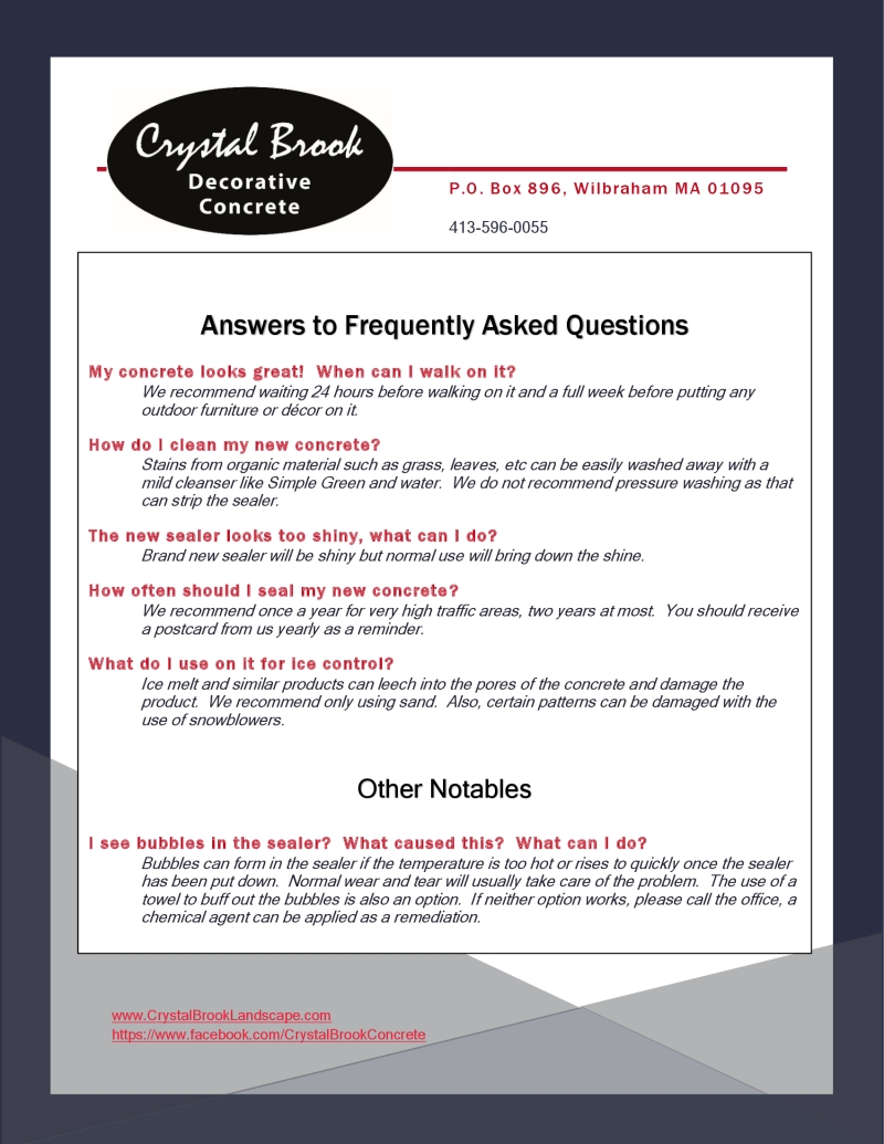 Post-Care-FAQ